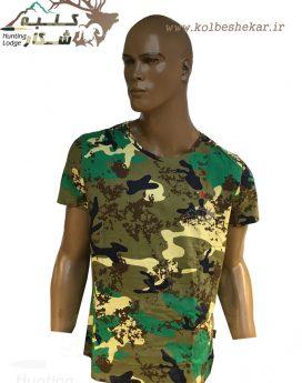 تیشرت چریکی استتار ژاندی   T Shirt Zhandi