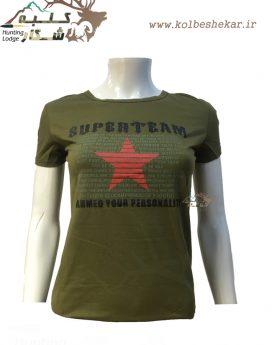 تیشرت زنانه سوپر تیم 2   t shirt superteam