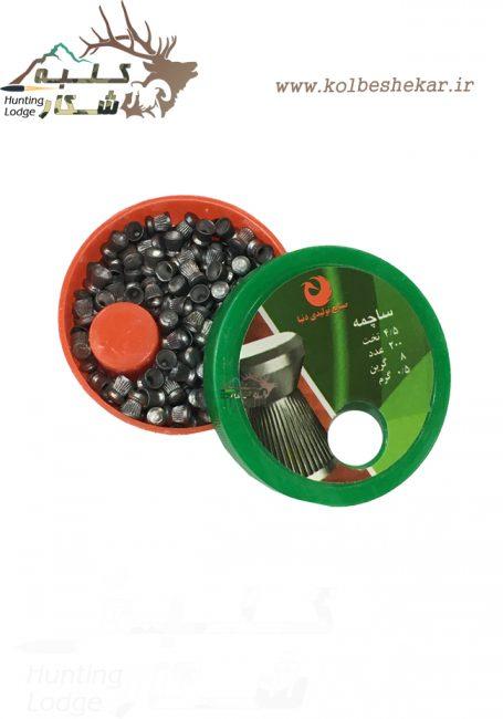 ساچمه سر تخت دنیا کالیبر 4.5 2 | donya bullets