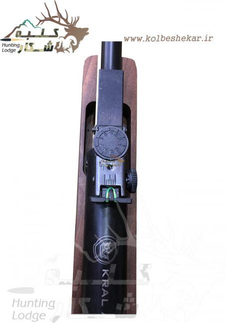 تفنگ کرال قنداق چوبی3   KRAL AIRRIFLE WOOD