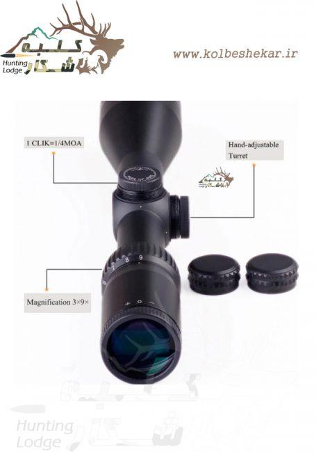 دوربین دیسکاوری 40*9-3   894 DISCOVERY RIFLE SCOPE 3