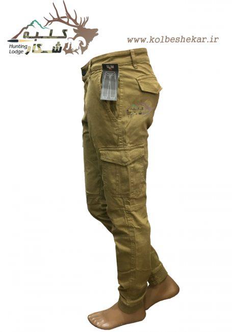 شلوار دمپاکش خاکی 6جیب | 986-2ARMY 6POCKET PANTS