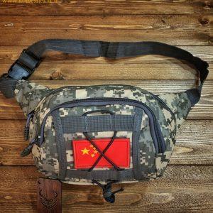 کیف کمری دیجیتالی استتاری 3 جیب | Camouflage