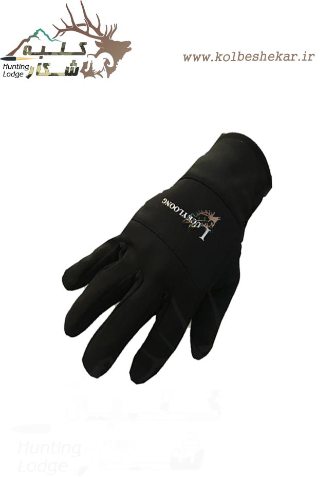 دستکش ویندستاپر مشکی | windstoper glove