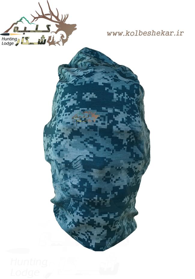 اسکارف دیجیتالی آبی 2 | DIGITAL BLUE SCARF 877