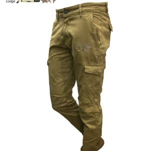 شلوار دمپاکش خاکی 6جیب | 986-1ARMY 6POCKET PANTS