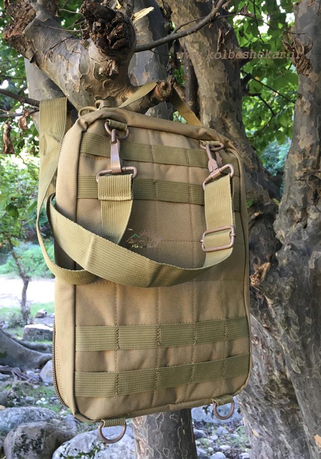 کیف دوشی خاکی تاکتیکال3 | multifunction tactical bag