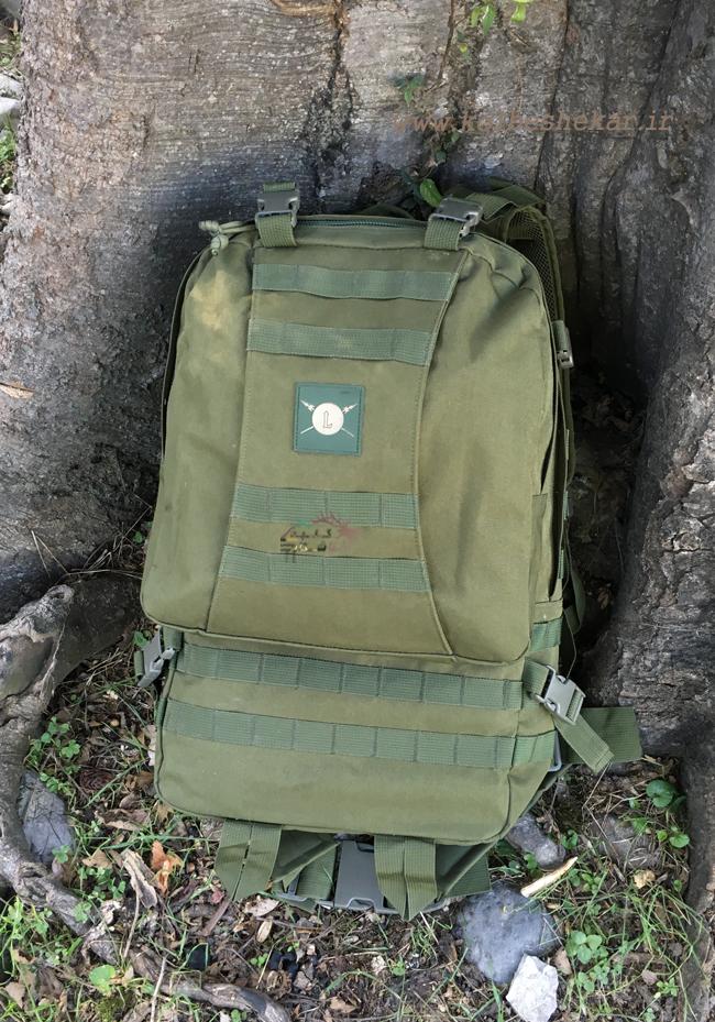 کوله پشتی سبز تاکتیکال | tactical backpack