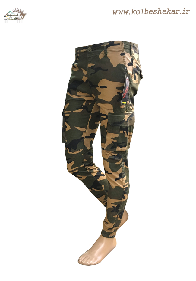 1021 شلوار چریکی دمپاکش کتان | ARMY PANTS GUESS -2
