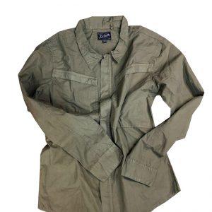 پیراهن دو جیب سبز | ARMY SHIRT1022