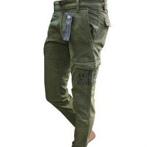 1023 شلوار شیش جیب دمپاکش کتان | ARMY PANTS GUESS