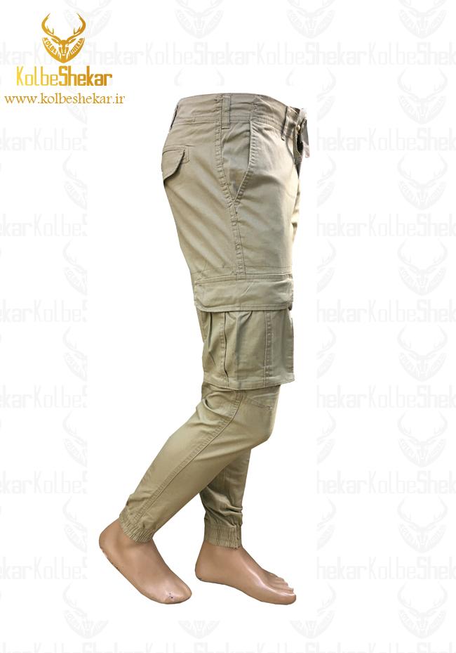 شلوار شش جیب دمپاکش خاکی | 6POCKET PANTS2