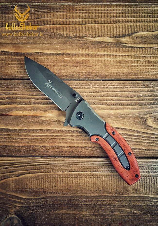 چاقو تاشو شکاری برونینگ | BROWNING X47 KNIFE