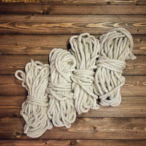طناب ماهیگیری پنبه ای 15 متری | FISHING ROPE