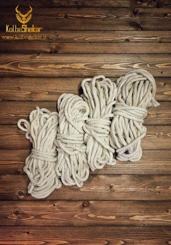 طناب ماهیگیری پنبه ای 15 متری   FISHING ROPE