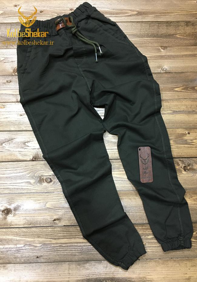 شلوار دوجیب اسلش سبز   Slash 2Pocket Pants