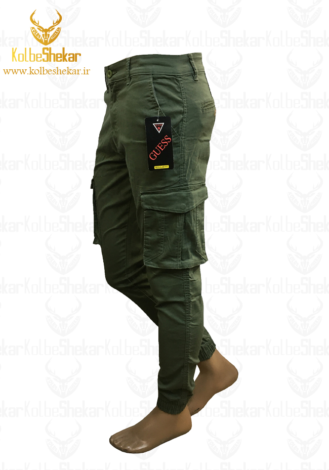 شلوار 6جیب سبز دمپاکش | 6pocket pants