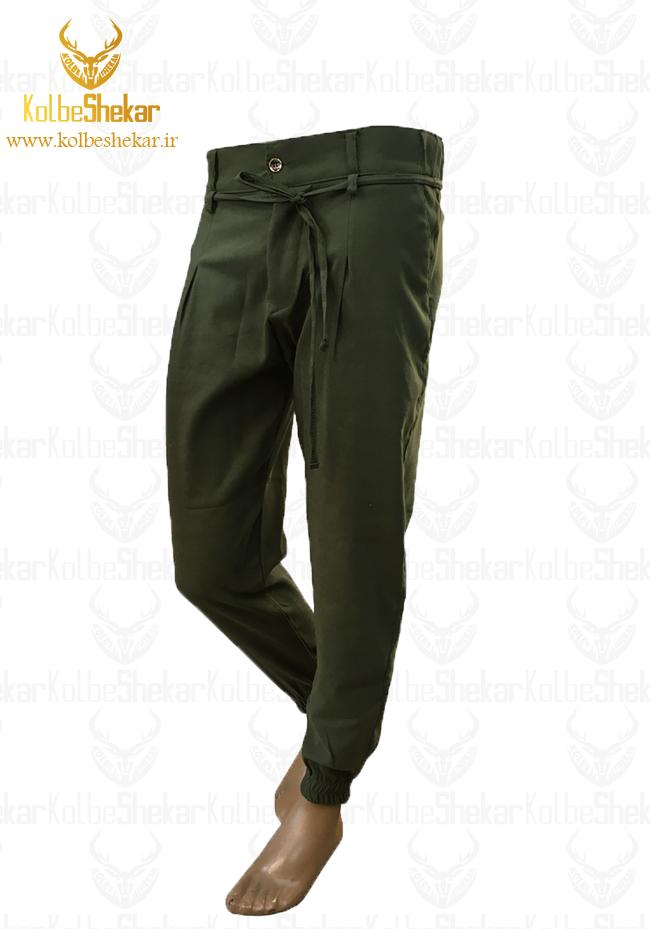 شلوار اسلش سبز دوجیب | Slash 2pocket pants