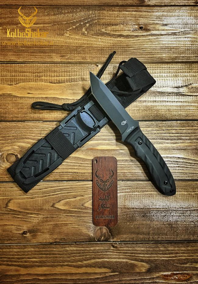 کارد شکاری گربرمشکی | GERBER KNIFE 154cm