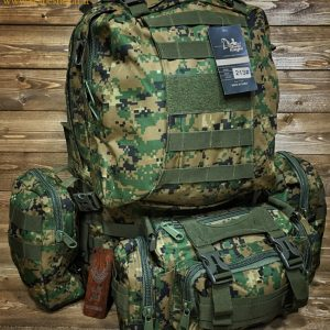 کوله نظامی دیجیتالی سبز | Tactical Backpack