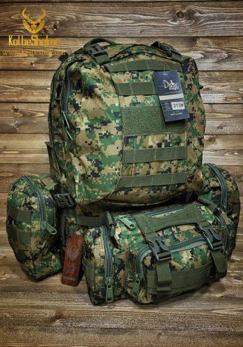 کوله نظامی دیجیتالی سبز   Tactical Backpack