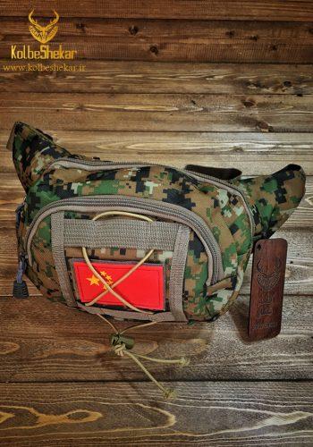 کیف کمری دیجیتالی جنگلی 3 جیب | Camouflage
