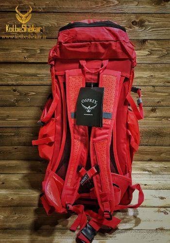 کوله کوهنوردی 40لیتری قرمز | Osprey 40L BACKPACK