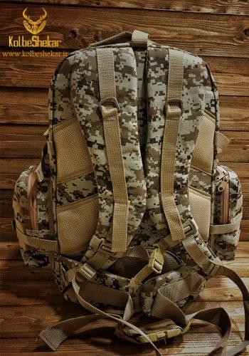 کوله پشتی استتار کویری | Camouflage 50L BACKPACK