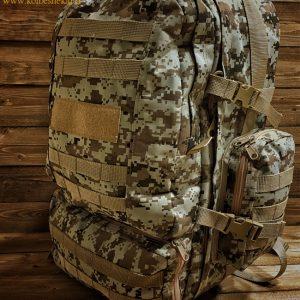 کوله پشتی استتار کویری2 | Camouflage 50L BACKPACK