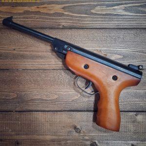 تچانچه فنری سوپر ایر 5.5 چوبی | Super Air Pistol