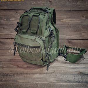کیف تاکتیکال سبز دوشی | Multifunction Tactical Bag
