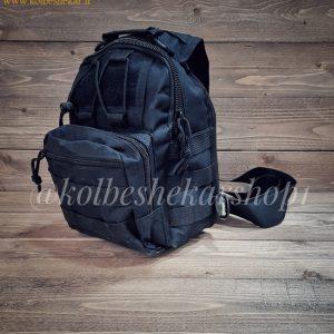 کیف تاکتیکال مشکی دوشی2 | Multifunction Tactical Bag