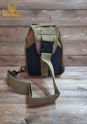 کیف تاکتیکال خاکی دوشی | Multifunction Tactical Bag