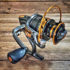 چرخ ماهیگیری بندائو مشکی طلایی | AC5000