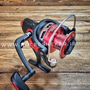 چرخ ماهیگیری روماسا مشکی قرمز   RC7000