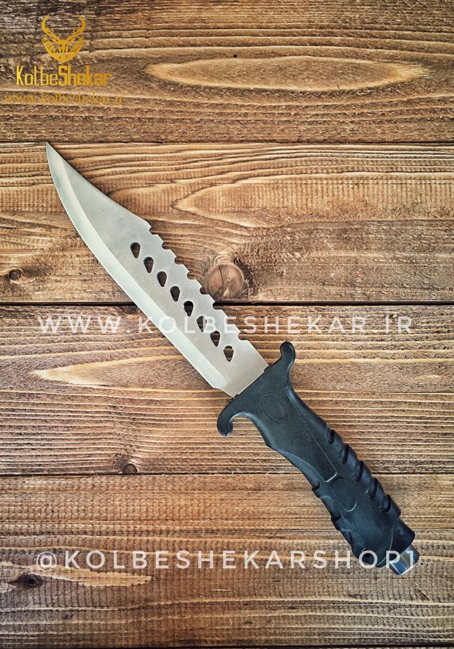 کارد شکاری کلمبیا سفید دندانه دار | Columbia Knife