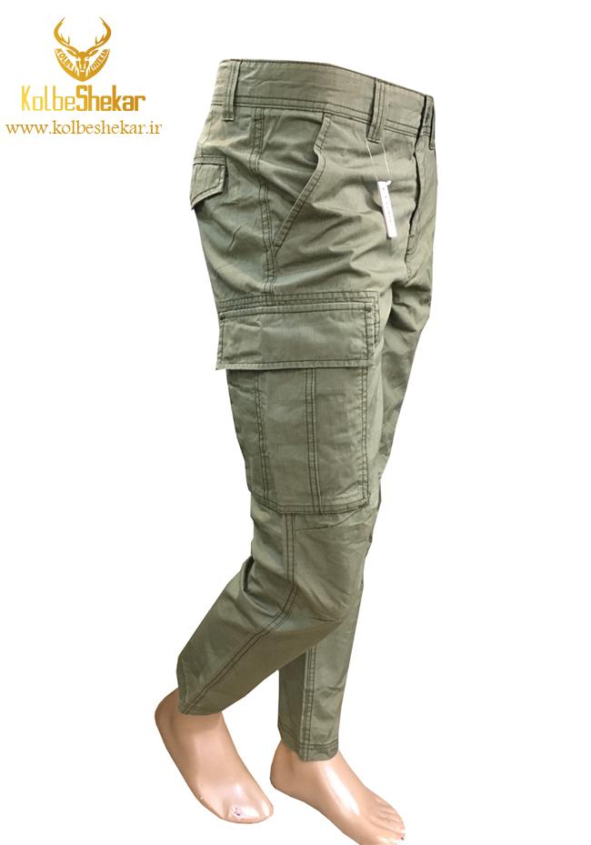 شلوار 6جیب سبز جورج | 6POCKET GEORGE PANTS
