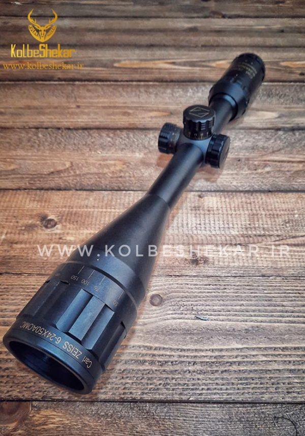 دوربین اسلحه آنتی شوک زایس 50*24-6 2 | ZIESS