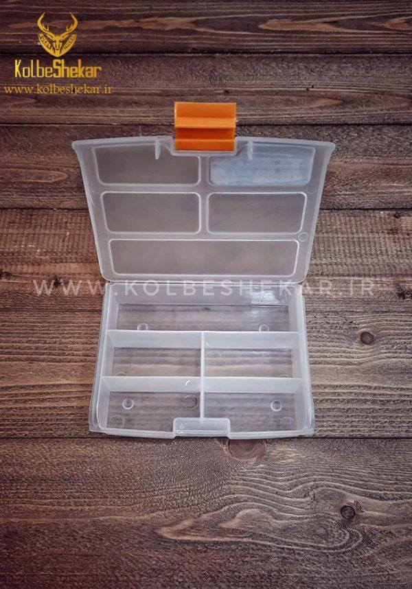 جعبه قلاب ماهیگیری 5 خانه2   FISHING HOOK BOX