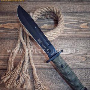 کارد شکاری کلمبیا 2148 بی مشکی | Columbia 2148B Knife
