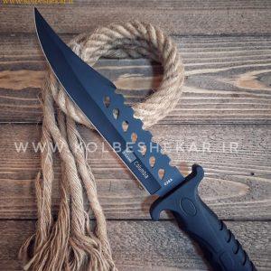 کارد شکاری کلمبیا 038 آ مشکی | Columbia 038 A Knife