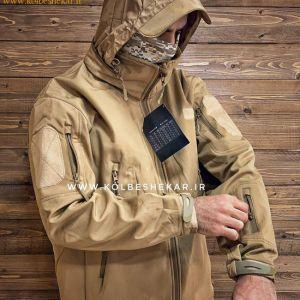 کاپشن مردانه تاکتیکال کلاهدار | Tactical Hooded Jacket