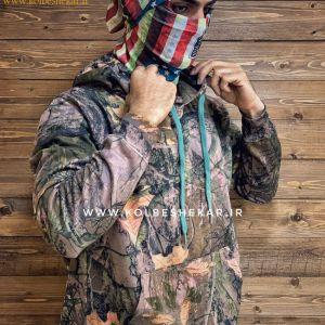 هودی استتار کلاهدار | Hooded Camouflage Hoodie