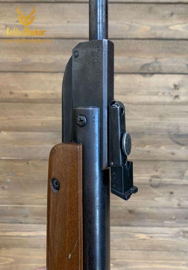 تفنگ بادی دیانا35 کارکرده 4.5 4   DIANA 35 AIR RIFLR
